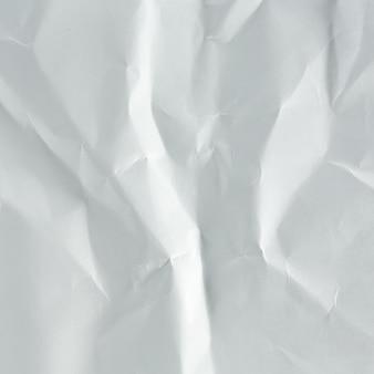 Papier blanc froissé bouchent de fond