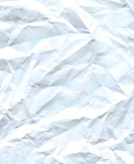 Papier blanc indésirable