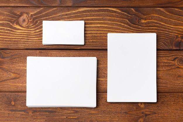 Papier blanc vierge maquette