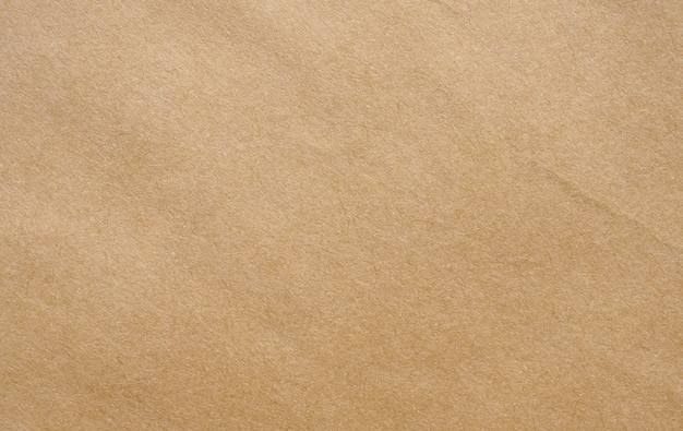 Papier brun recyclé feuille kraft texture fond de carton