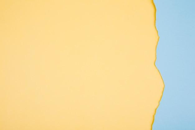 Papier coloré doux déchiré