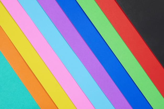 Papier couleur abstrait, fond multicolore minimal
