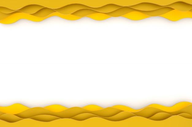 Papier découpé abstrait design d'arrière-plan art pour modèle de site web ou présentation