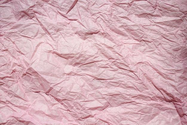 Papier froissé coloré abstrait pour le fond