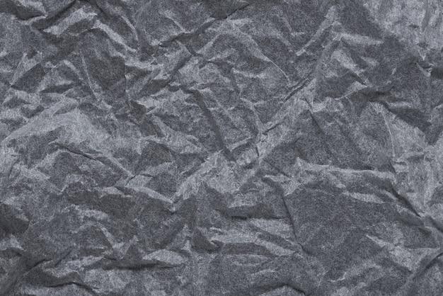 Papier froissé gris texturé
