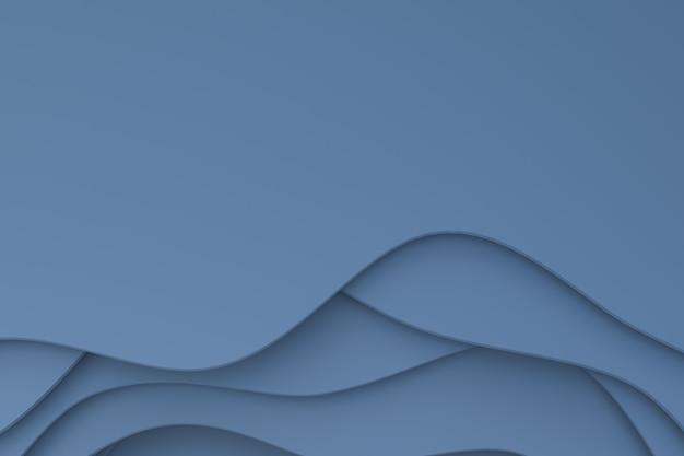 Papier gris abstrait découpé design d'arrière-plan art pour modèle d'affiche, fond gris, motif abstrait
