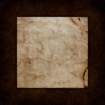 Papier grunge sur une texture de cuir ancienne