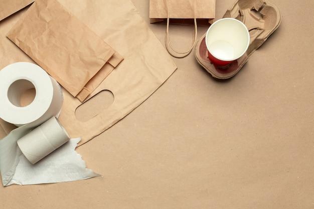 Papier kraft recyclé