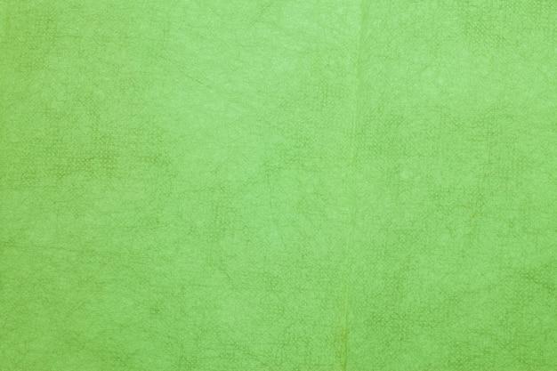 Papier de mûrier de couleur verte.