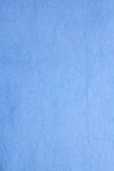 Papier de mûrier fait main de couleur bleu.
