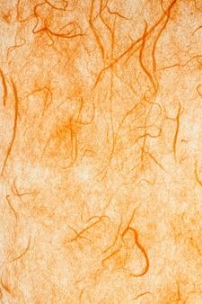 Papier de mûrier orange.