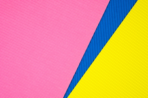 Papier ondulé multicolore