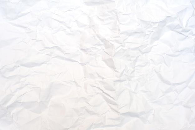 Papier . papier froissé blanc