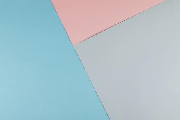 Papier pastel abstrait. design créatif. pose à plat