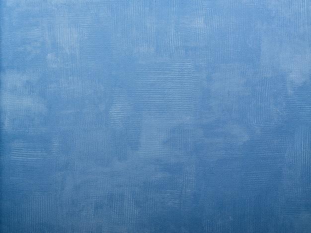 Papier peint bleu texturé pour le fond