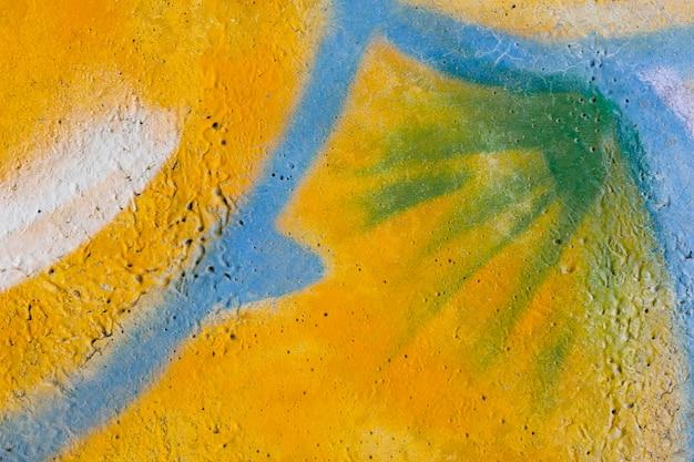 Papier peint graffiti mural abstrait