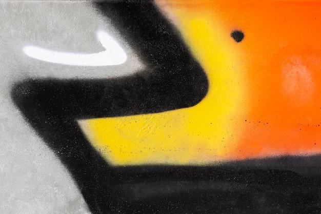 Papier peint graffiti mural coloré