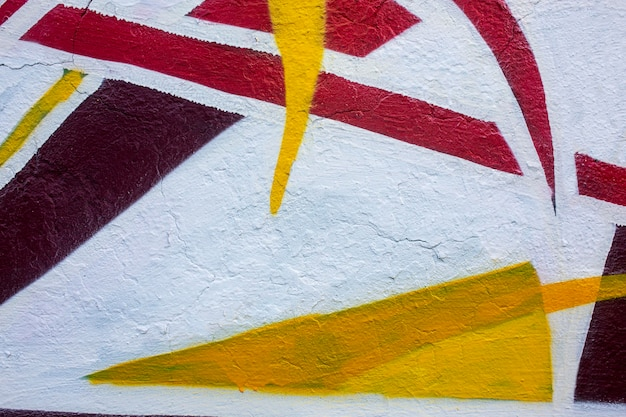 Papier peint graffiti mural créatif