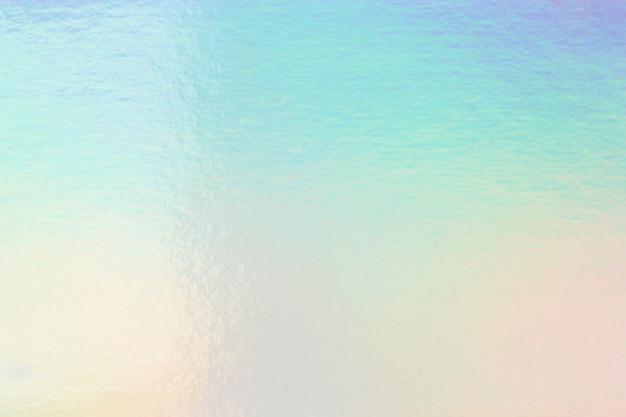 Papier peint holographique brillant coloré