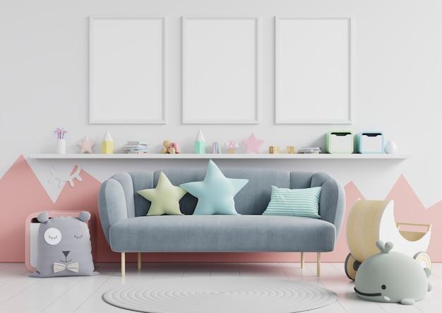 Papier peint intérieur pour chambre d'enfants
