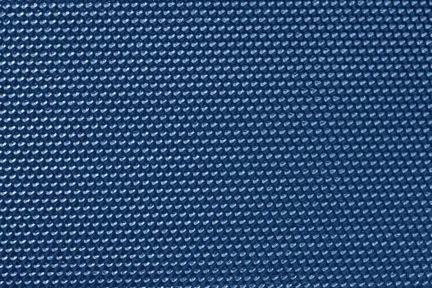 Papier peint motif nid d'abeille de couleur bleue
