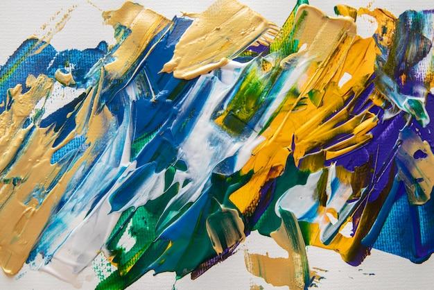 Papier peint à la peinture acrylique à plat