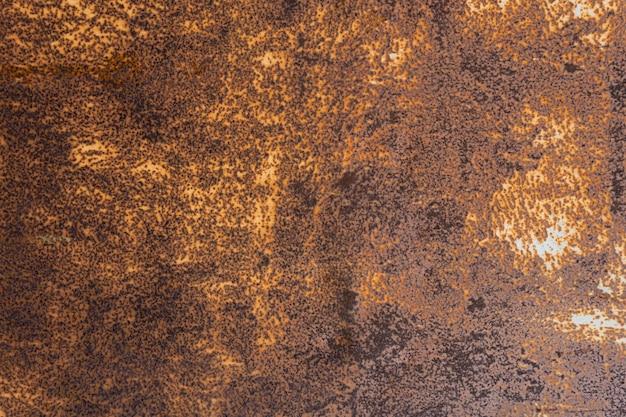 Papier peint texturé métallisé rouillé