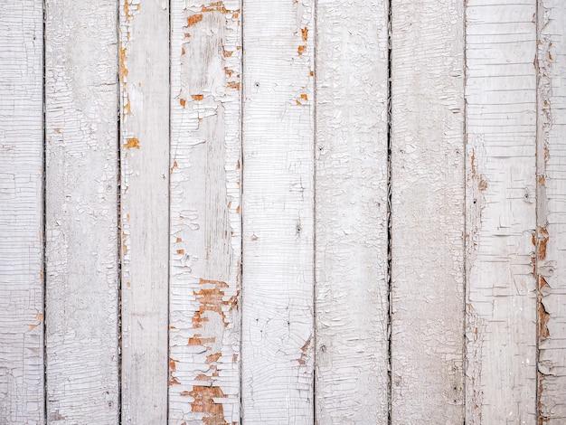Papier peint ou texture pour le texte, les marchandises. clôture en bois blanc en planches