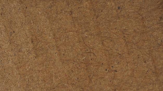 Papier recyclé marron pour la texture et l'arrière-plan.