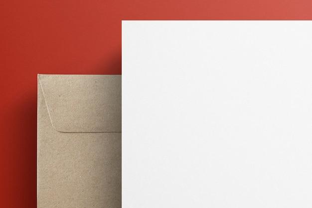 Papier à en-tête vierge pour la conception d'identité d'entreprise