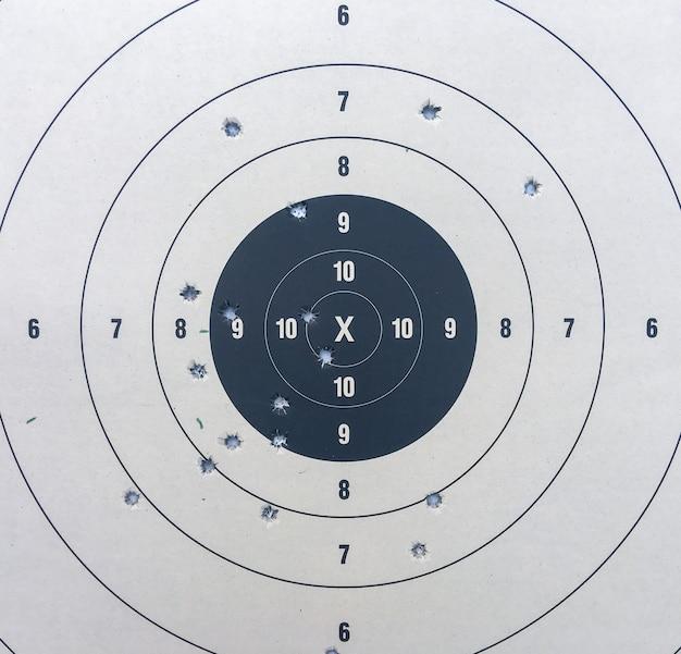 Papier de tir à la cible