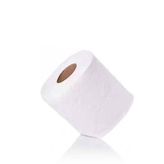 Papier toilette blanc / papier de soie.