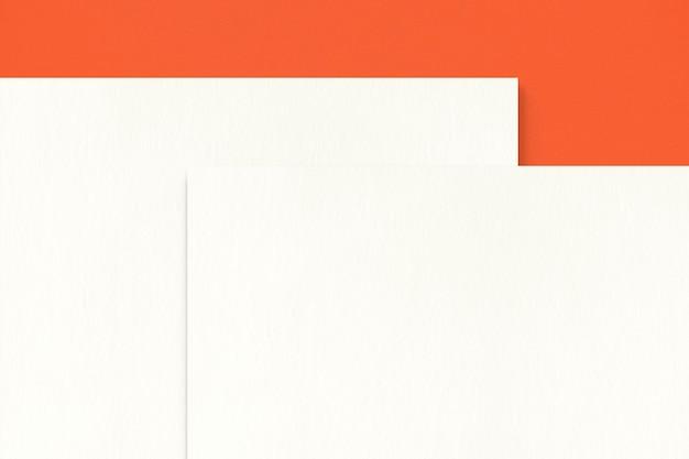 Papier vierge pour la conception d'identité d'entreprise