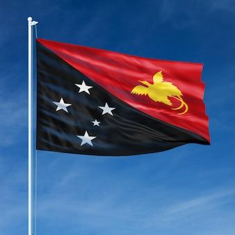 Papouasie-nouvelle-guinée drapeau vol