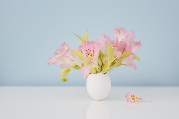 Pâques, décoration, décoration de pâques, oeuf, fleurs
