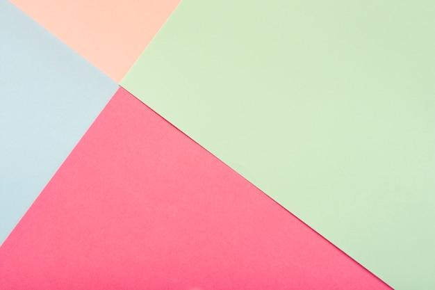 Paquet de feuilles de carton pastel