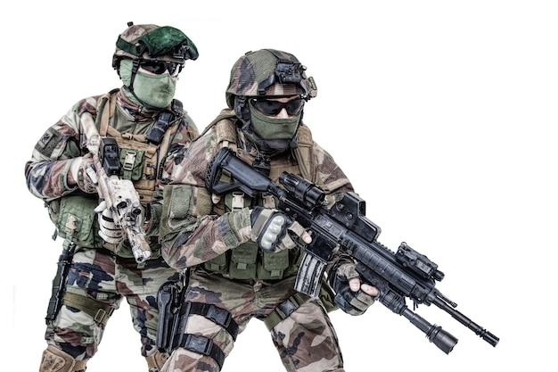 Parachutistes du 1er régiment de parachutistes d'infanterie de marine rpima