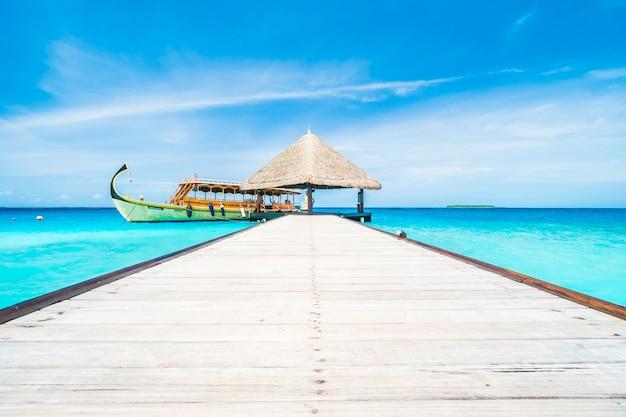Paradis mâle bleu maison exotique
