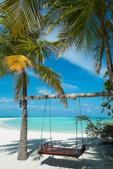 Paradis de vacances aux maldives