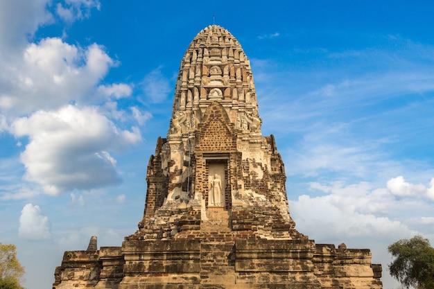 Parc historique d'ayutthaya à ayutthaya, thaïlande