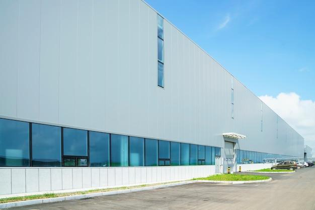 Parc industriel, bâtiment d'usine, entrepôt