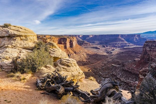Parc national de canyonlands dans l'utah