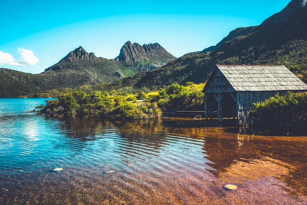 Parc national de cradle mountain, tasmanie, australie