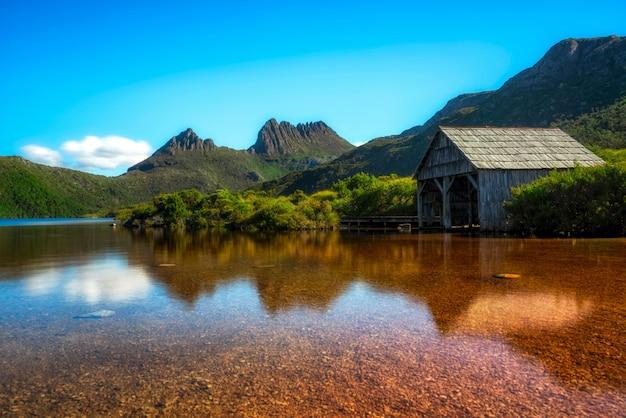 Parc national de cradle mountain, tasmanie, australie