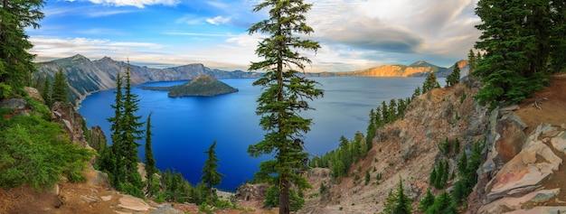 Parc national du lac de cratère etats-unis