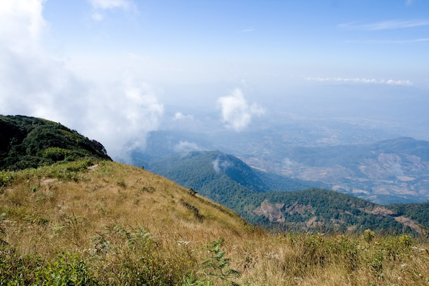 Parc national de kew mae pan, parc national de doi inthanon (chiang mai, thaïlande)