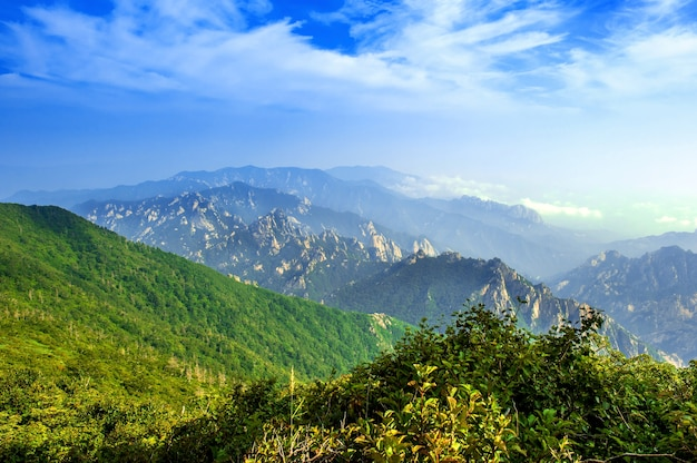 Parc national de seoraksan, le meilleur de la montagne en corée du sud