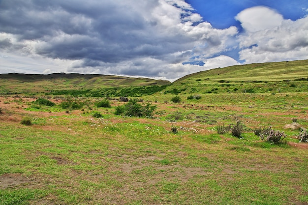 Parc national torres del paine, patagonie, chili