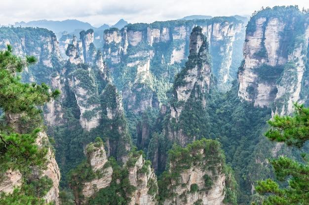 Parc national de zhangjiajie unesco wulingyuan changsha chine