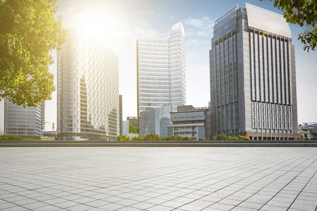 Parc paysage urbain copie route marbre